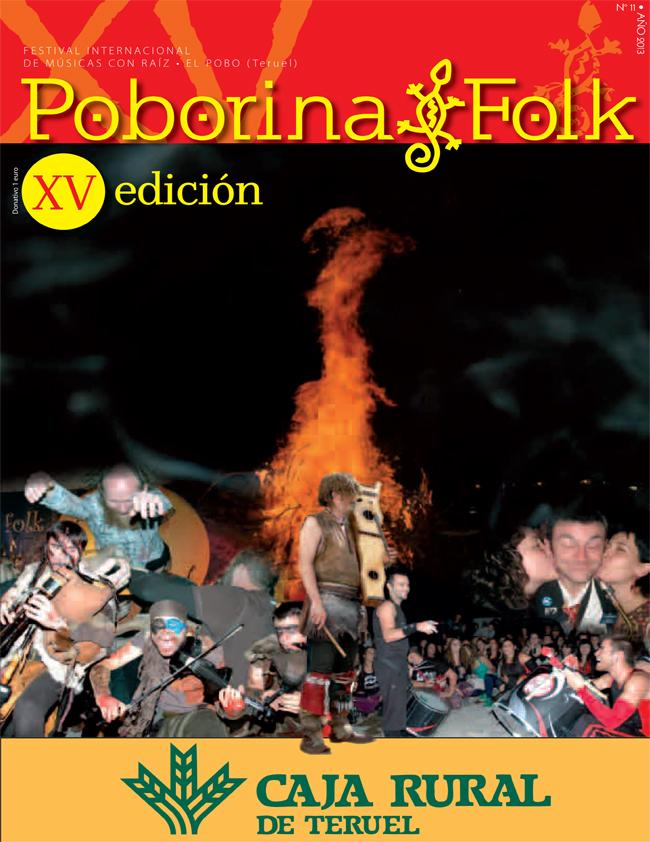 Portada Revista Poborina Folk XV Edición