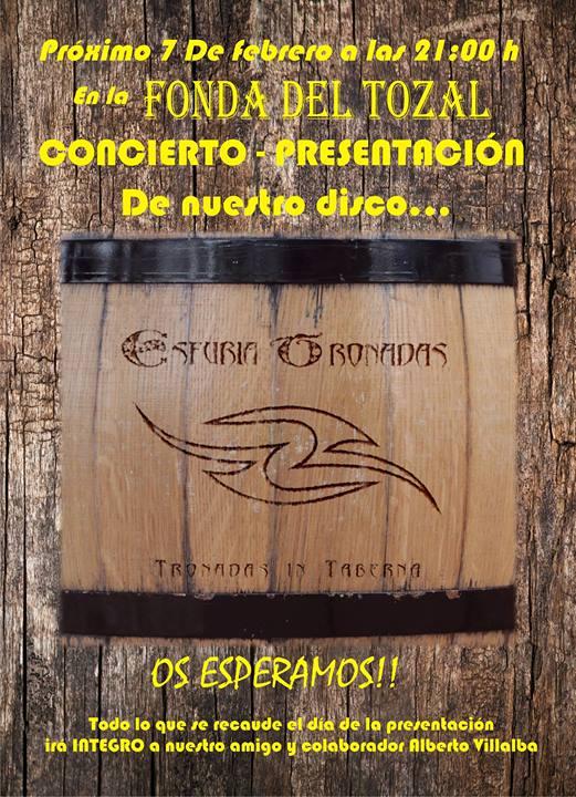 Esfuria Tronadas concierto