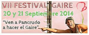 Festival de Artes Escénicas GAIRE - 20 y 21 de Septiembre