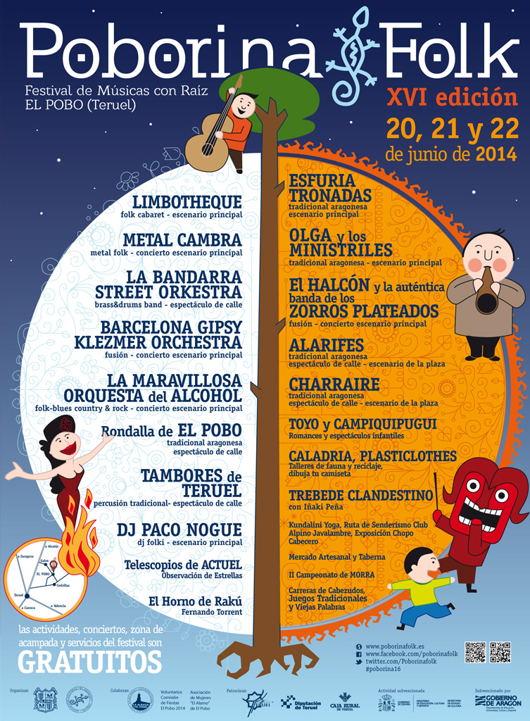 Cartel Poborina Folk 2014