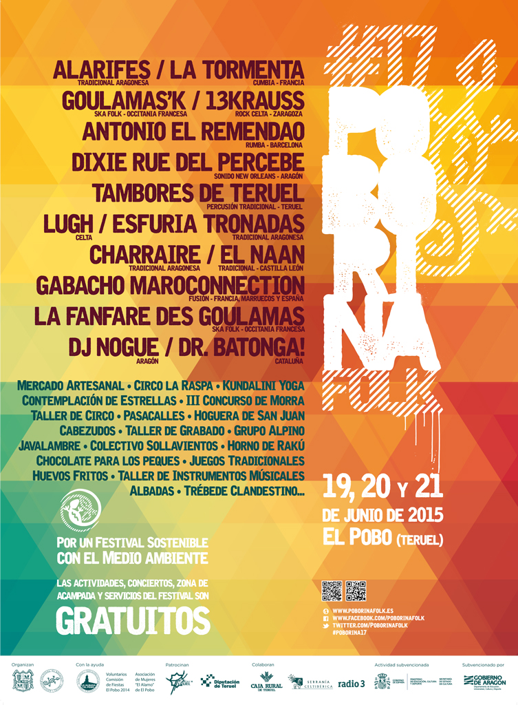 Cartel Poborina Folk 2015