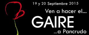 VIII Gaire 2015 - Festival de Artes Escénicas