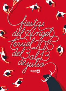 Cartel Fiestas del Angel 2015