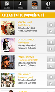 AUDIO PLAYER. APP 18 POBORINA FOLK