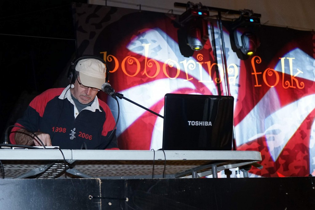 Dj Paco Nogue en Poborina 18