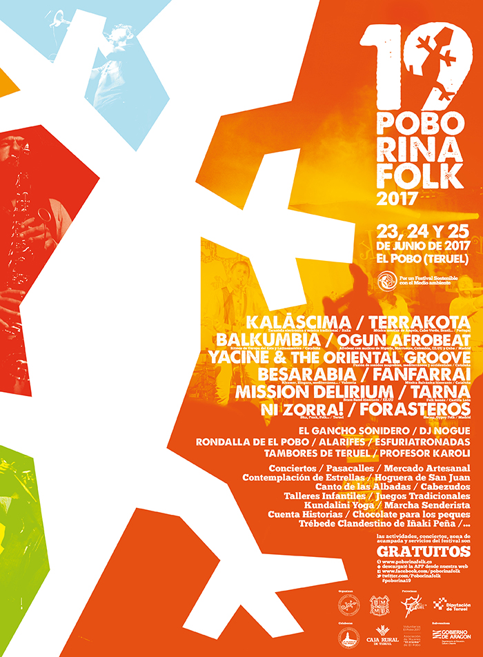 Cartel 19 Poborina Folk - 2017