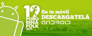 Aplicación para Android del 19 Poborina Folk
