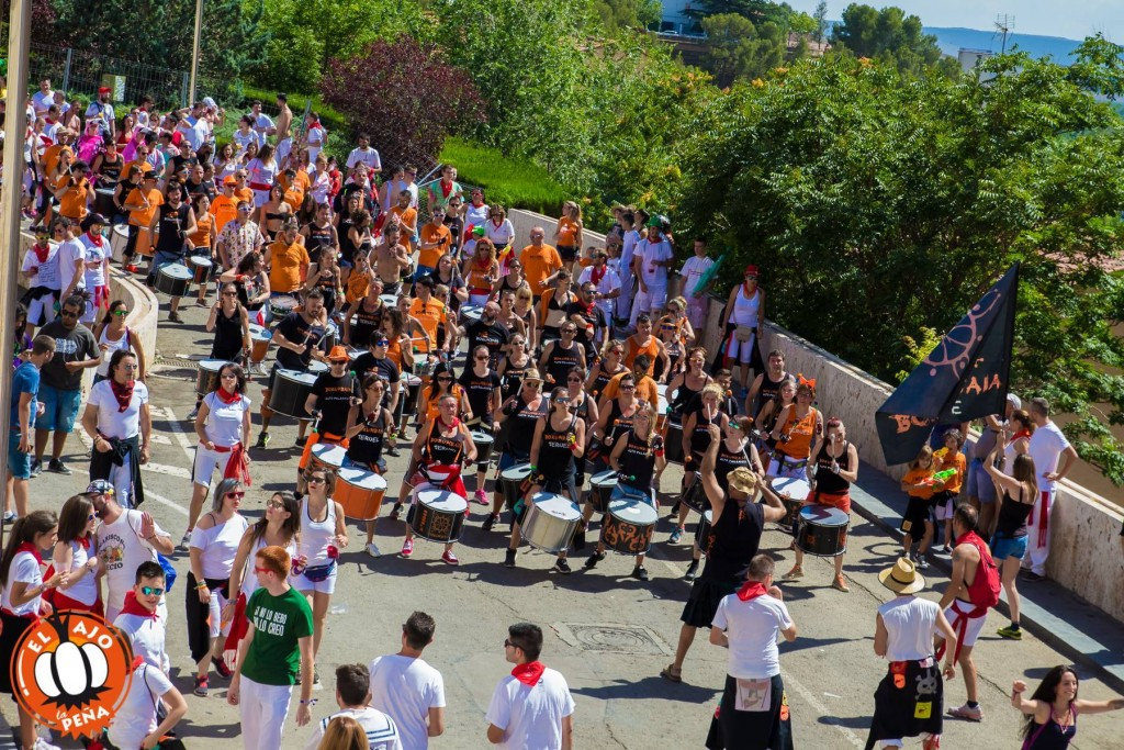 Borumbaia Alto Palancia estaran el Festival XX Poborina Folk. Teruel
