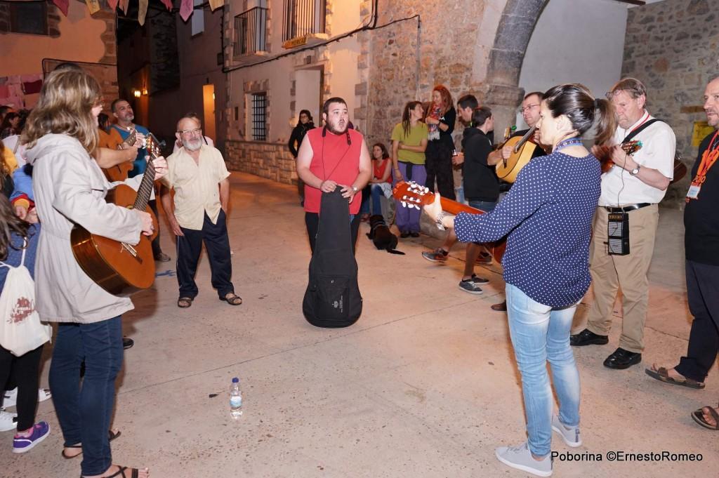 L  Rondalla de El Pobo en Poborina. Teruel