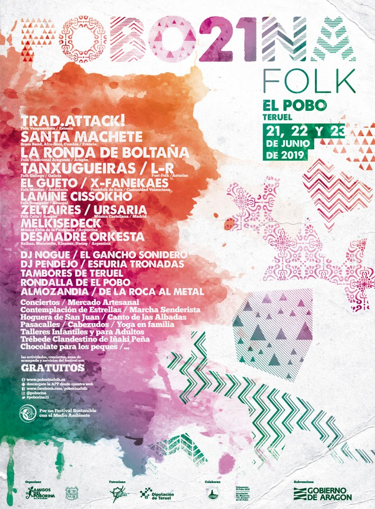 Cartel 21 Poborina Folk