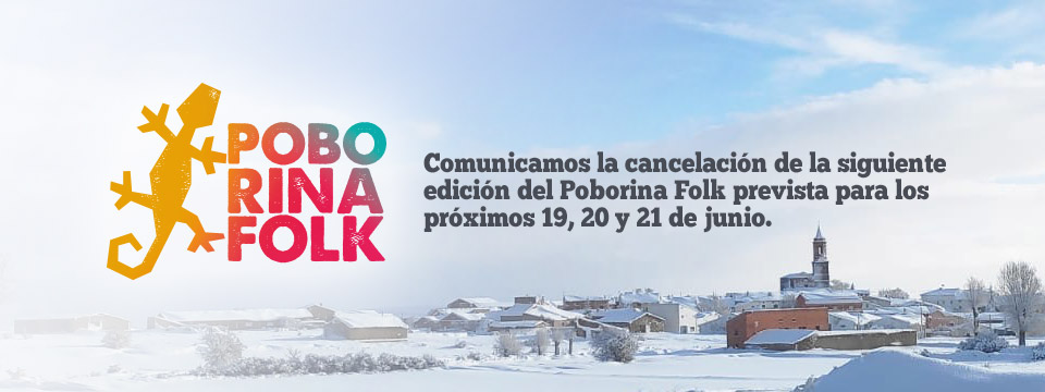 Cancelación 22 Edición Poborina Folk